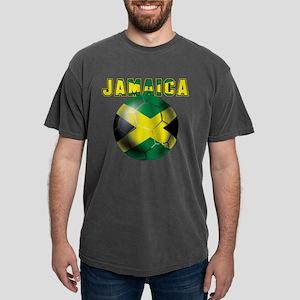 Jamaican Football Mens Comfort Colors Shirt