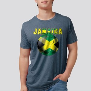 Jamaican Football Mens Tri-blend T-Shirt