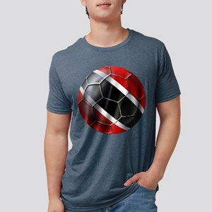 Trinidad Tobago Football Mens Tri-blend T-Shirt