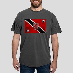 Trinidad and Tobago Football Flag Mens Comfort Col