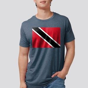 Trinidad and Tobago Flag Mens Tri-blend T-Shirt