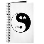 Journal taichi and yinyang symbol