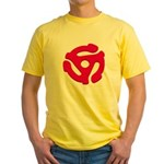 DJ Super Hero Yellow T-Shirt