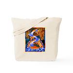 Art Shirt - 'Fish Ladder' Tote Bag
