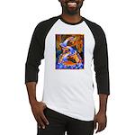 Art Shirt - 'Fish Ladder' Baseball Jersey
