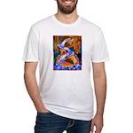 Art Shirt - 'Fish Ladder' Fitted T-Shirt
