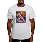 Art Shirt - 'Fish Ladder' Ash Grey T-Shirt