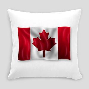 Canada Flag Everyday Pillow