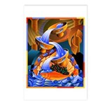 'Fish Ladder' Postcards (Package of 8)
