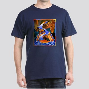 'Fish Ladder' Dark T-Shirt