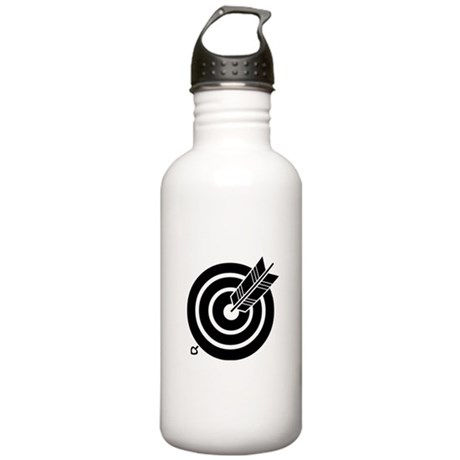 Arrow hit a round targ Stainless Water Bottle 1.0L