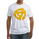 DJ Super Hero Fitted T-Shirt