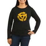 DJ Super Hero Women's Long Sleeve Dark T-Shirt
