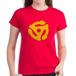 DJ Super Hero Women's Dark T-Shirt