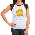 DJ Super Hero Women's Cap Sleeve T-Shirt
