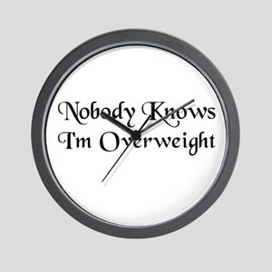 The Closet Heavyweight's Wall Clock