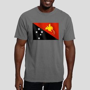 Papua New Guinea Flag Mens Comfort Colors Shirt