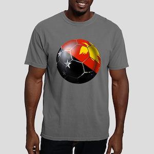 Papua New Guinea Soccer Mens Comfort Colors Shirt