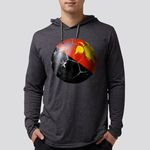 Papua New Guinea Soccer Mens Hooded Shirt