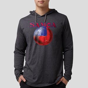 Samoa Football Mens Hooded Shirt