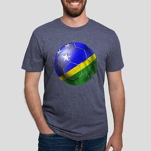 Solomon Islands Football Mens Tri-blend T-Shirt