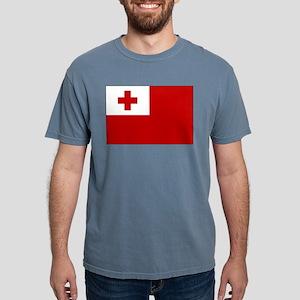Flag of Tonga Mens Comfort Colors Shirt