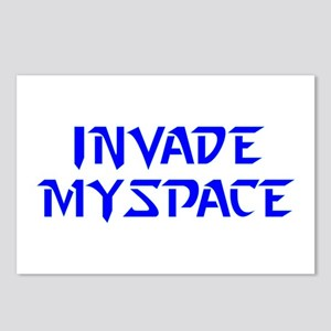Invade MySpace Postcards (Package of 8)