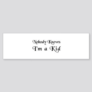 The Childish Bumper Sticker