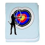 Archery4 baby blanket