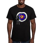 Archery4 Men's Fitted T-Shirt (dark)