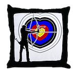 Archery4 Throw Pillow