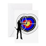 Archery4 Greeting Card