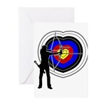 Archery4 Greeting Cards (Pk of 20)