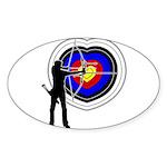 Archery4 Sticker (Oval 10 pk)