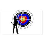 Archery4 Sticker (Rectangle 10 pk)