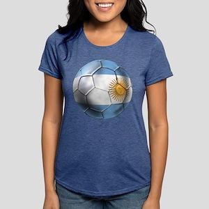 Argentina Football Womens Tri-blend T-Shirt