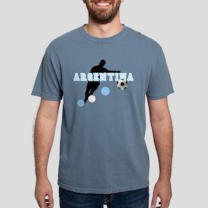 Argentina Soccer Player Mens Comfort Colors® Shirt