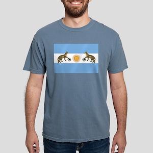 Argentina Football Flag Mens Comfort Colors® Shirt