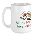 Video Poker Large Mug