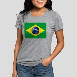 Brasileira de Futebol Womens Tri-blend T-Shirt