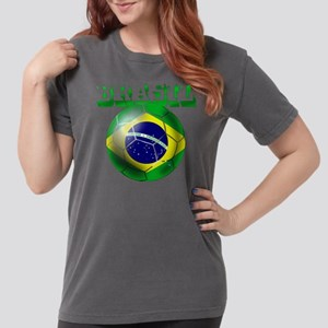 Brasil Football Womens Comfort Colors Shirt