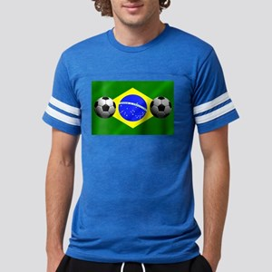 Brazilian Soccer Flag Mens Football Shirt