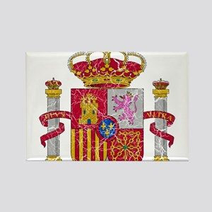 Spain Coat Of Arms Rectangle Magnet