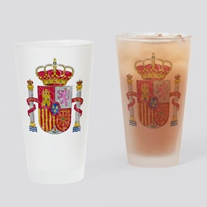 Spain Coat Of Arms Drinking Glass