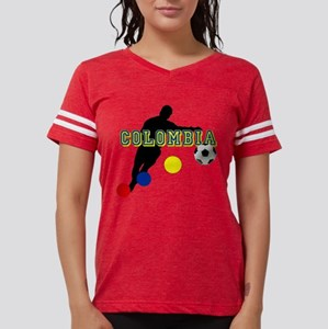 Columbia Soccer Player Womens Football Shirt