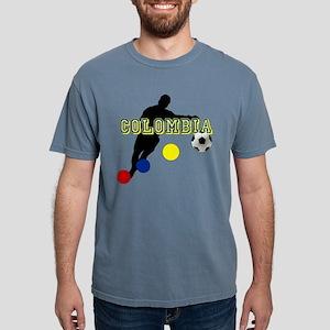 Columbia Soccer Player Mens Comfort Colors Shirt