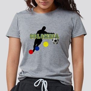 Columbia Soccer Player Womens Tri-blend T-Shirt