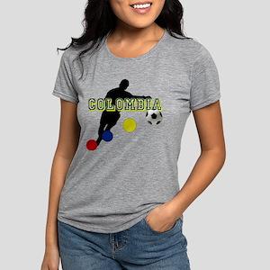 Columbia Soccer Player Womens Tri-blend T-Shirt