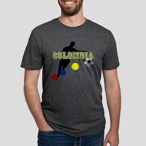 Columbia Soccer Player Mens Tri-blend T-Shirt