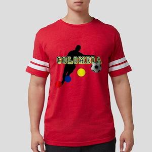 Columbia Soccer Player Mens Football Shirt